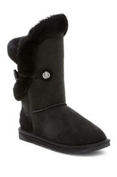 Australia Luxe Collective Nordic Angel Short Genuine Shearling Boot Black