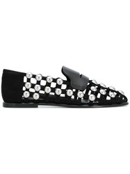 Alexander Wang Studded Loafers Black