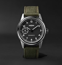 Weiss Automatic Issue 38Mm Stainless Steel And Cordura Field Watch Army Green