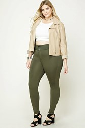 Forever 21 Plus Size High Waist Pants