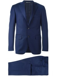 Canali 'Regular' Two Piece Suit Blue