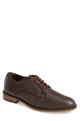 Caminando Plain Leather Toe Derby Men Brown