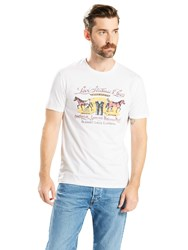 Levi's Two Horse Graphic T Shirt Vintage White