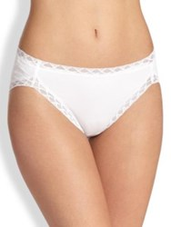 Natori Foundations Bliss French Cut Briefs Cafe White Black
