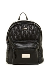 Valentino By Mario Valentino Quilted Diego Genuine Leather Backpack Black