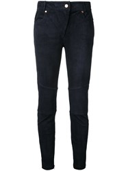Ginger And Smart Fervent Pants Women Leather 8 Blue