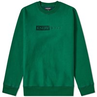 Know Wave Tbt Crew Sweat Green