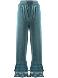 M Missoni Lurex Ruffle Trousers 60