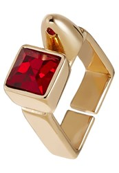 Sweet Deluxe Gillian Ring Goldcoloured Red