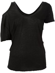 Unravel Project Cut Off Detailing Blouse Black