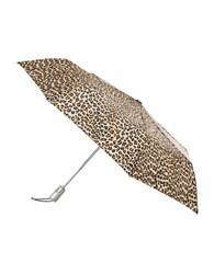 Totes Signature Automatic Umbrella Leopard