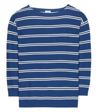 Closed Cotton And Cashmere Sweater Blue