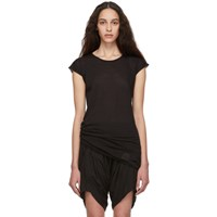 Rick Owens Drkshdw Black Short Sleeve T Shirt