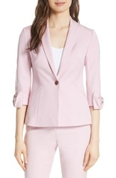 Ted Baker London Toply Bow Cuff Jacket Lilac