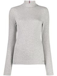 Tommy Hilfiger Roll Neck Sweater Grey