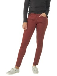 Fat Face Five Pocket Jeggings Tuscan Red