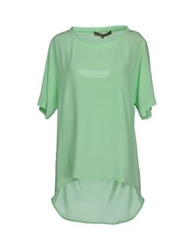 Space Style Concept Blouses Light Green