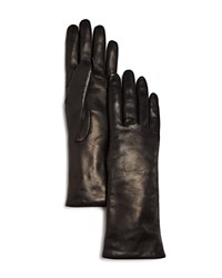Bloomingdale's Leather Gloves Black