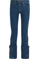 Y Project High Rise Bootcut Jeans Dark Denim