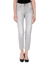 People Denim Pants Grey
