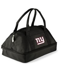 Picnic Time New York Giants Potluck Carrier Black