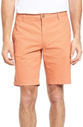 Tailor Vintage Men's Stretch Twill Walking Shorts Burnt Sienna