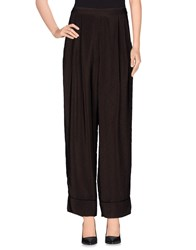 Pedro Del Hierro Trousers Casual Trousers Women Dark Brown