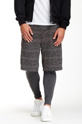 Shades Of Grey Lined Track Short Gray