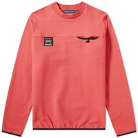 Billionaire Boys Club Cut And Sew Pocket Tech Sweat Red