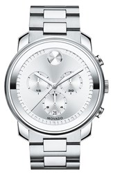 Movado Men's 'Bold' Chronograph Bracelet Watch 44Mm