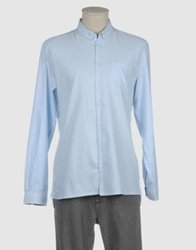 Suit Long Sleeve Shirts Sky Blue