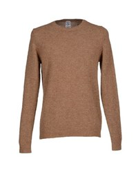S.O.H.O New York Soho Knitwear Jumpers Men Camel