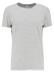 Scotch And Soda Long Fit Print Tshirt Combo Off White