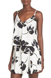 Lush Women's Lust Floral Print Camisole