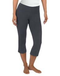 Jockey Flare Capri Leggings Grey