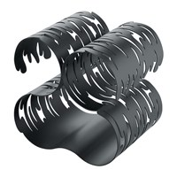 Alessi Barkcellar Bottle Rack Black