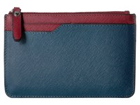 Ecco Iola Small Travel Wallet New Petrol Cherry Red Wallet Handbags Blue