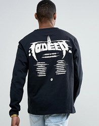 10.Deep 10 Deep Long Sleeve T Shirt With Tour Back Print Black