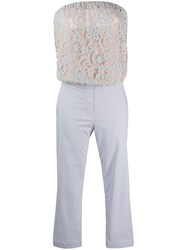 Semicouture Lace Embroidered Jumpsuit 60
