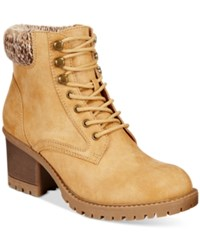 White Mountain Cliffs By Tulane Booties Women's Shoes Wheat