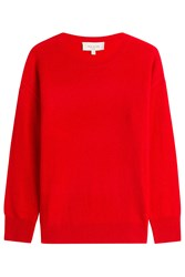 Paul And Joe Wool Cashmere Pullover Red