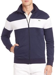 Lacoste Sport Track Jacket Navy White