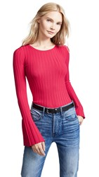 Bailey 44 Bailey44 Cossak Bell Sleeve Sweater Rich Red