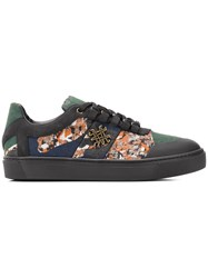 Mr And Mrs Italy Camouflage Tape Skate Sneakers Green