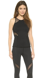 Michi Chameleon Tank Top Black Black