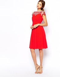 Little Mistress Prom Dress With Embroidered Sleeve Tomatored