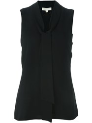Michael Michael Kors Sleeveless Blouse Black