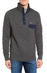 Patagonia Men's Snap T Quilted Fleece Pullover