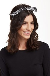 Cara Accessories Bandana Twist Headwrap Black