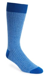 Ted Baker London Polbray Ribbed Socks Blue